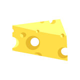 Piece Of Cheese Royalty Free Stock Photo