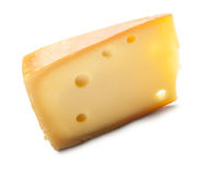 Piece of cheese  Royalty Free Stock Photos