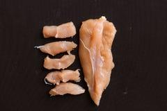 Piece chicken Royalty Free Stock Photo