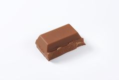 Piece of chocolate Royalty Free Stock Images
