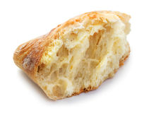 Piece of ciabatta Royalty Free Stock Images