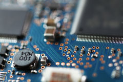 A piece of circuit board Royalty Free Stock Photo