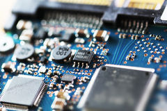 A piece of circuit board Royalty Free Stock Image