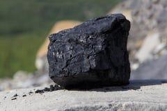 A piece of coal Stock Image