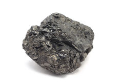A piece of coal Royalty Free Stock Photography