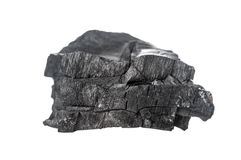 Piece of coal Royalty Free Stock Photography