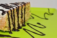 Piece of Corn Cake Royalty Free Stock Photography