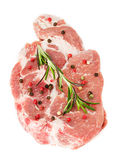 Piece of crude meat Royalty Free Stock Images
