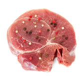 Piece of crude meat Royalty Free Stock Photography