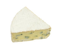 Piece of danish blue cheese Stock Photo
