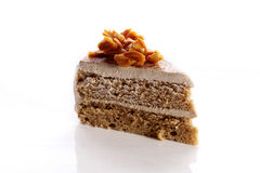 Piece of delicious cake Royalty Free Stock Photo