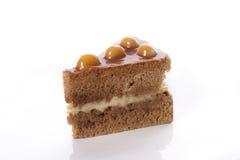 Piece of delicious cake Royalty Free Stock Photos
