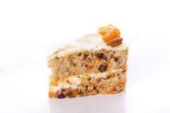 Piece of delicious cake. Royalty Free Stock Photos
