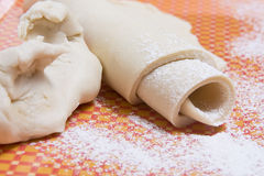 Piece of dough Stock Images
