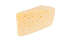 Piece of Dutch cheese Stock Image