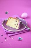 Piece of Easter Cake Stock Photography
