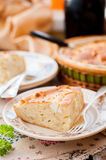 A Piece of Easy Cabbage, Egg and Cumin Pie Stock Images