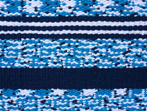 Piece of fabric. Piece of woven fabric with stripes royalty free stock photo