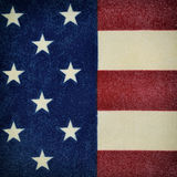 Piece of the flag of the United States Royalty Free Stock Photo