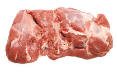 Piece of Fresh pork meat Royalty Free Stock Image