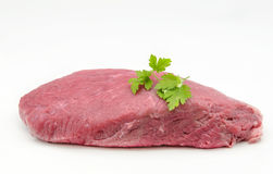 Piece of fresh raw beef Royalty Free Stock Photo