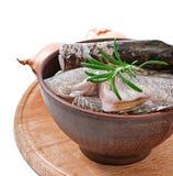 Piece of fresh raw fish Stock Photo