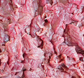 Piece of fresh raw meat background Stock Images