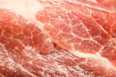 Piece of fresh raw meat background, close-up. The piece of fresh raw meat background, close-up Stock Images