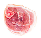 A Piece of Fresh Raw Pork, Meat. Studio Photo Stock Image