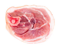 A Piece of Fresh Raw Pork, Meat. Studio Photo Stock Photos