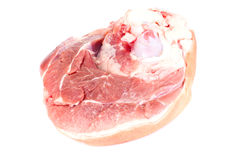 A Piece of Fresh Raw Pork, Meat. Studio Photo Royalty Free Stock Images