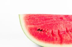 Piece of fresh watermelon Stock Images