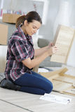 Piece furniture to assemble Royalty Free Stock Photography
