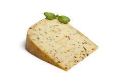 Garden herb cheese Stock Photos