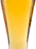 Piece of glass of beer Royalty Free Stock Image