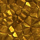 Piece of gold ore Stock Images