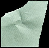 Piece of green paper Royalty Free Stock Photo