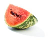 Piece of green water melon Stock Photos