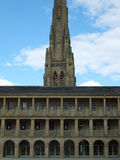 The piece hall in halifax yorkshire Royalty Free Stock Photo