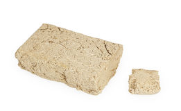 Piece of halva Stock Photo