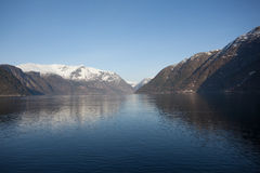 A piece of Hardanger Fjord Stock Images