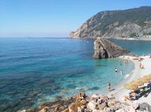 A piece of heaven on earth. Monterosso, Cinque Terre, Italy Stock Image