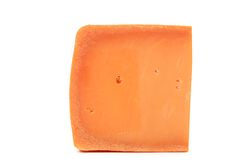 Piece of holand cheese. Royalty Free Stock Image