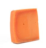 Piece of holand cheese. Stock Image