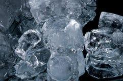 Piece of ice Stock Photo