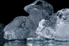 Piece of ice Stock Photography
