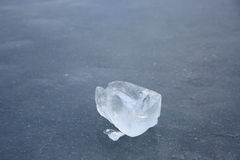 Piece of ice Stock Image