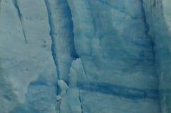 Perito Moreno Glacier ice detail and texture. Piece of ice from a wall of the Perito Moreno Glacier Royalty Free Stock Photos