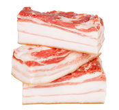 Piece of lard Royalty Free Stock Images