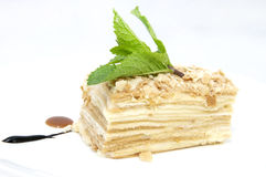 Piece of layer cake Royalty Free Stock Photo